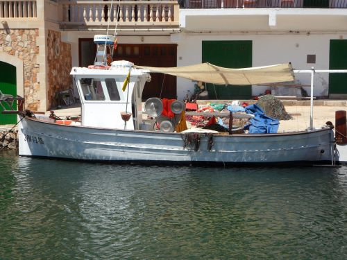 fishing boat port mallorca