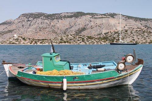 fishing boat  boat  fishing