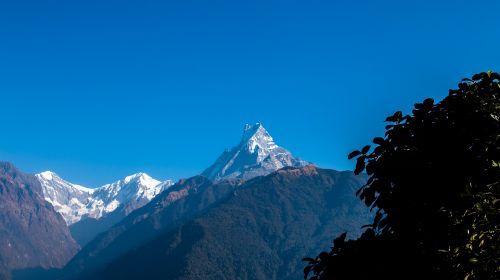 fishtail mountain himalayas