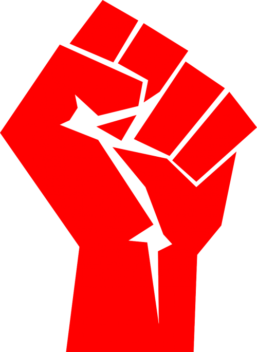 fist red fight