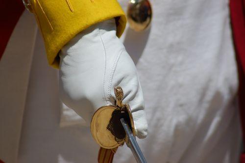 fist handle glove