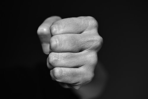 fist  blow  violence