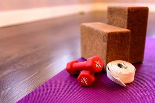fitness block mat
