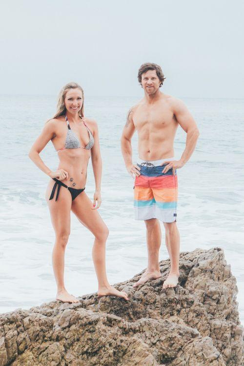 fitness couple model