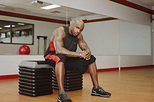 fitness guy black