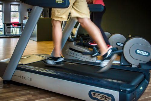 fitness treadmill running