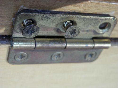 fitting screw hinge
