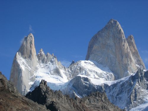 fitz roy cerro torre mountains