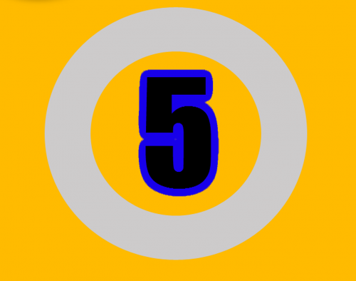 five number numbers