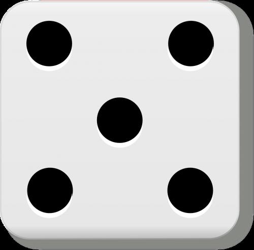 five dice eyes