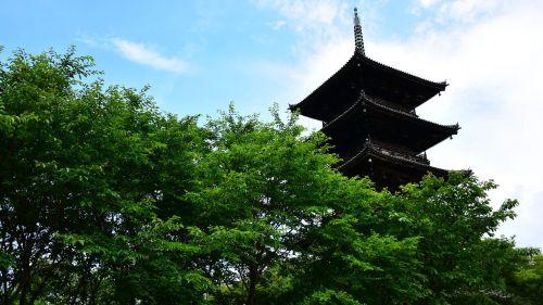 five story pagoda history natural