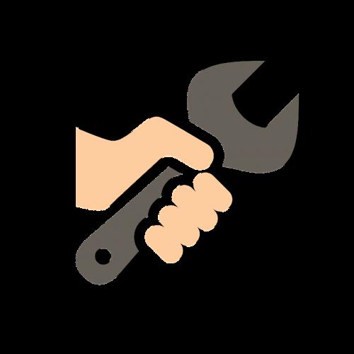 fix hand equipment
