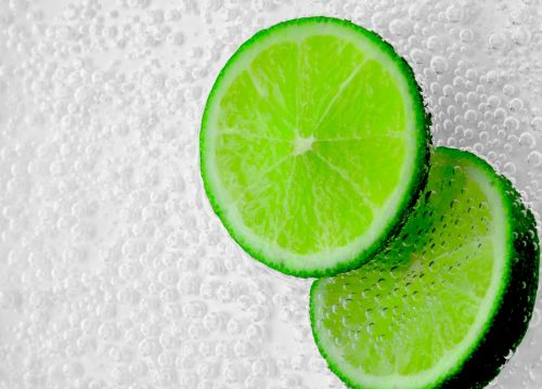 Fizzy Lime Slices