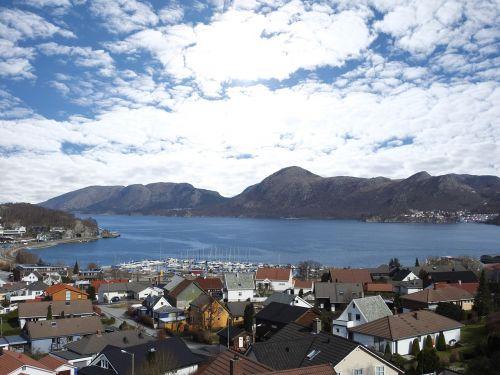 fjord mountain norway