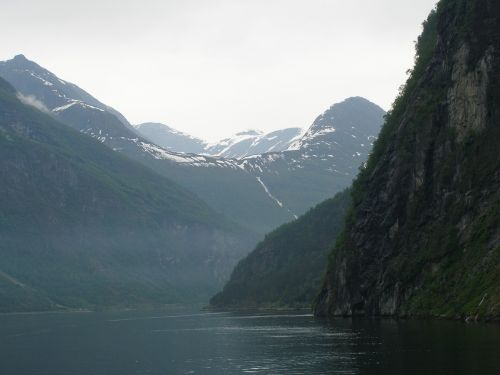 fjord summer norway