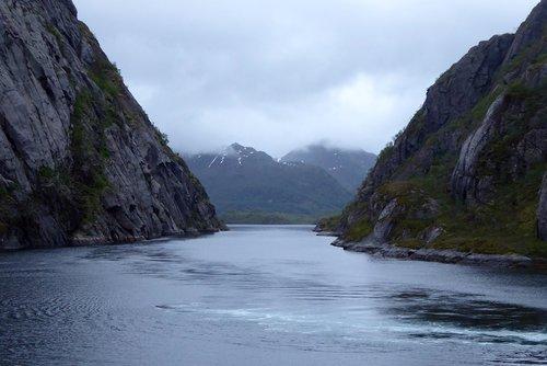 fjord  norway  voyage