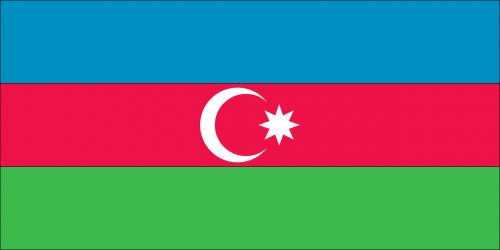 flag country azerbaijan
