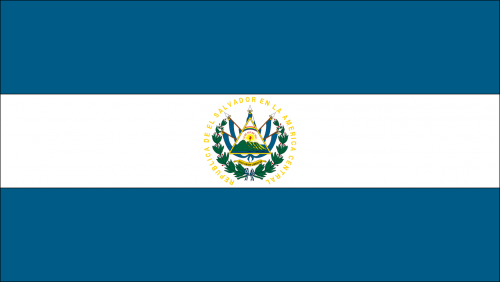 flag country el salvador