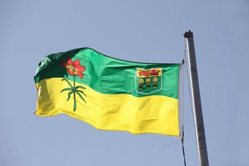 flag sasketchewan canada