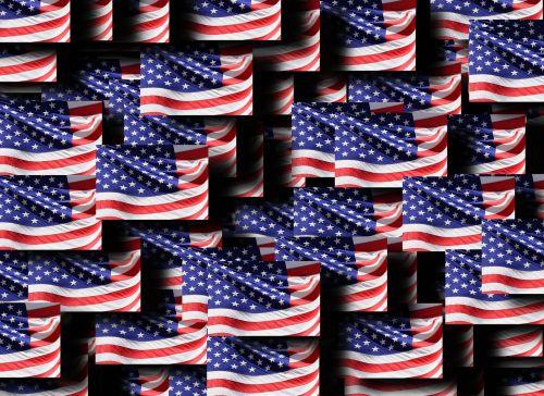 flag usa america