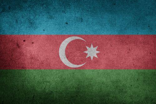 flag azerbaijan asia