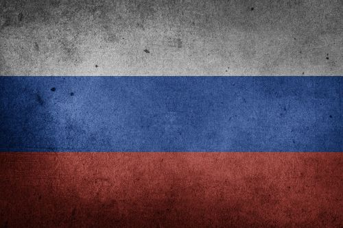 flag russia putin
