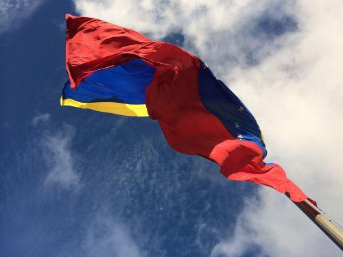 flag venezuela pole
