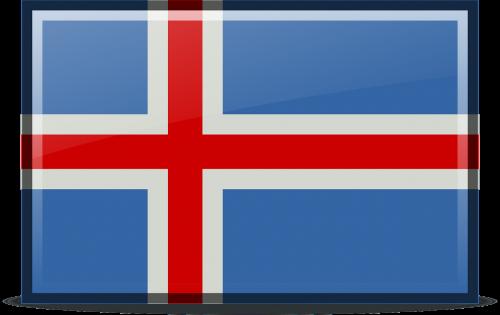 flag iceland icons