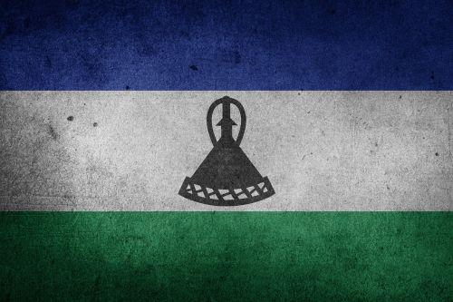 flag lesotho africa