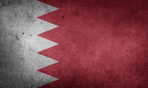 flag bahrain middle east
