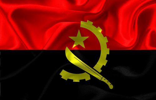 flag angola angola flag