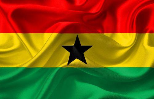flag ghana red