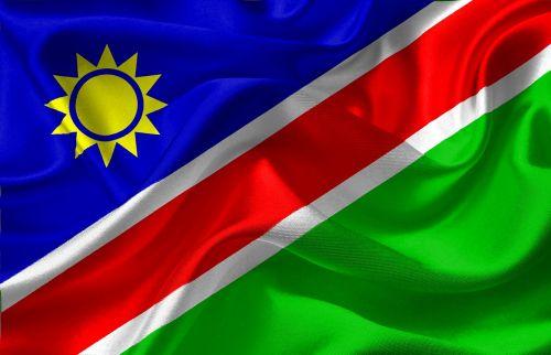 flag namibia africa