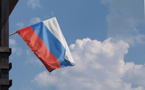 flag russia tricolor