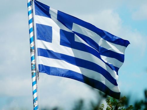flag greece greek