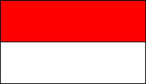 flag indonesia country