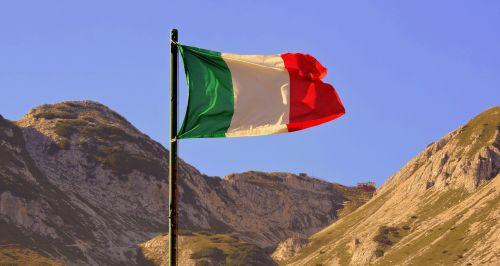 flag italy auction