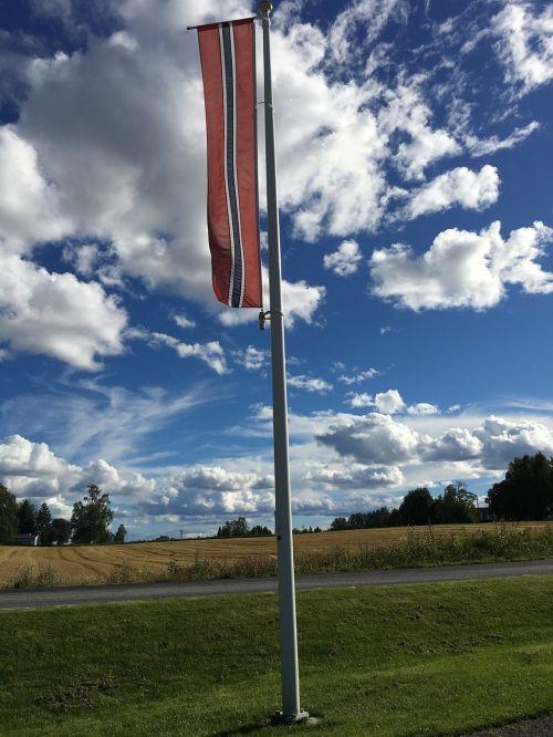 flag norwegian norwegian flag