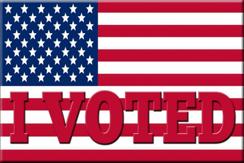 flag vote i voted