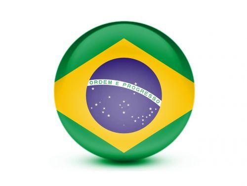 flag brazil 3d