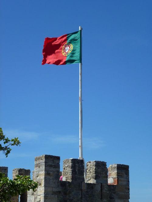 flag barcelona portugal