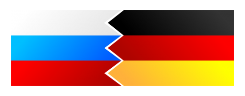 flag russia germany