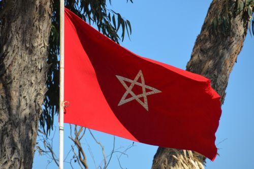 flag morocco star