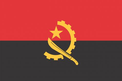 flag angola country