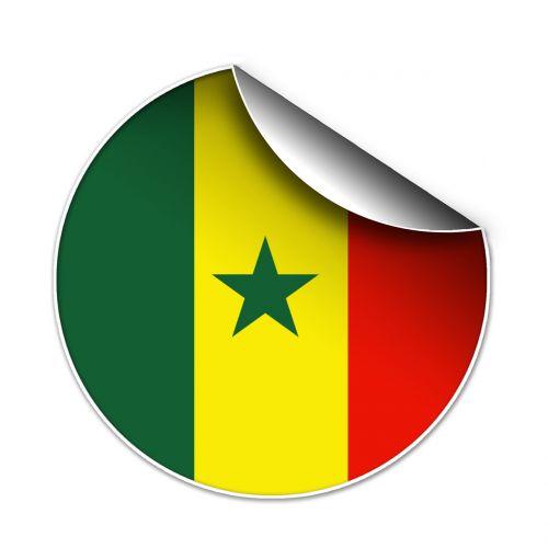 flag senegalese symbol