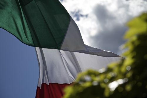 flag italy tricolor