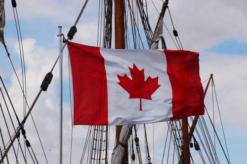 flag canadian flag canada