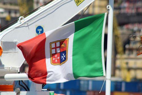 flag fleg italy