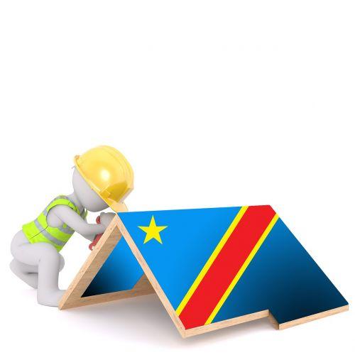 flag dr congo symbol