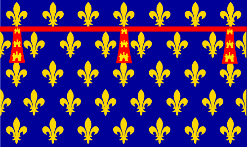 flag county of artois artois